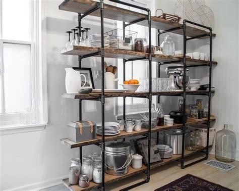 diy industrial pipe shelf ideas creative storage space