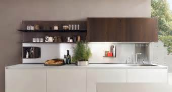 Kitchen Island With Open Shelves 25 White And Wood Kitchen Ideas