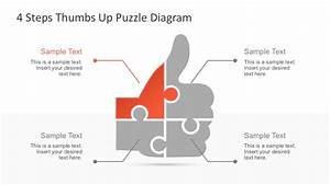 Free Thumbs Up Puzzle Powerpoint Diagram