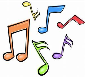 Colouful clipart music note - Pencil and in color colouful ...