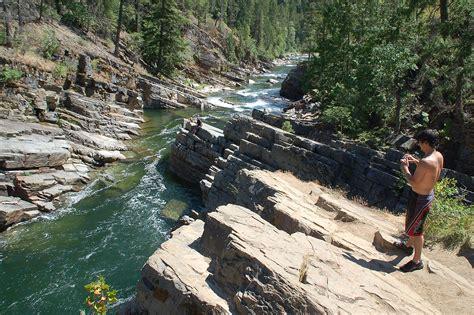 yaak river montana mt falls water pristine clearest most