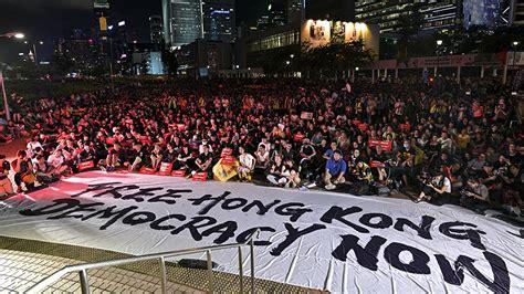 mass protests  hong kong call  support