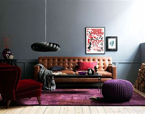Long Tufted Sofa by Is Cognac Leather Furniture As Neutral As Denim Yay Or