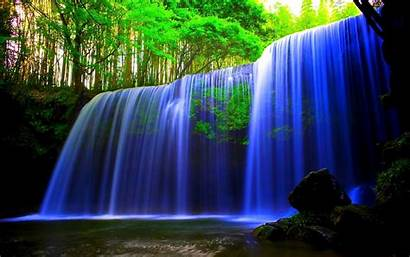 Wallpapers Laptops 3d Pc Waterfall