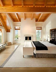 Bedroom With Timber Ceiling