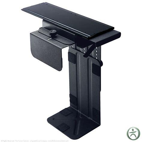 humanscale desk cpu holder humanscale cpu300 cpu holder