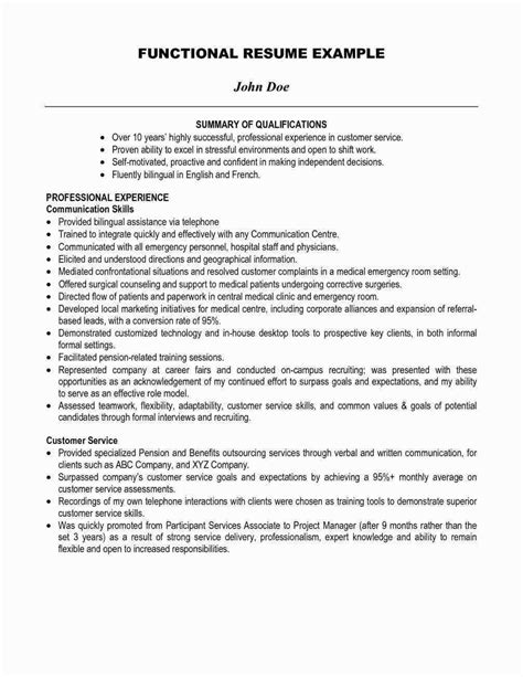 Resume Summary Statement Exles Customer Service by Teradata Resume Sle Free Tlate Resume Summary