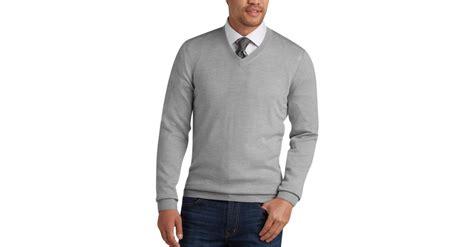 Mens Long Sleeve Sweater Vest