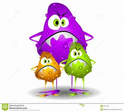 Germs Bacteria Viruses Characters