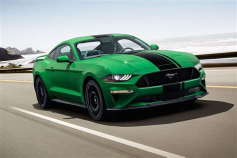 2019 Ford Mustang Has The 'need For Green' Roadshow