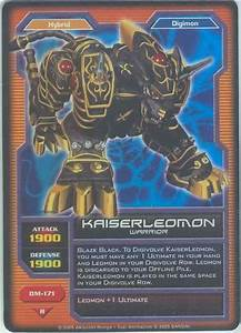 reference card template kaiser leomon wikimon the 1 digimon wiki
