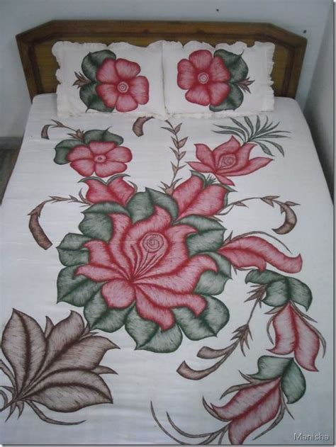 fabric painting flower pattern craft inspirations