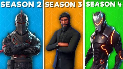 Season 2 Vs Season 3 Vs Season 4 (fortnite Battlepass