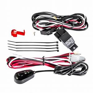 Anzo 12v Wiring Kit Universal 12v Auxiliary Wiring Kit W   Illuminated Switch-851062