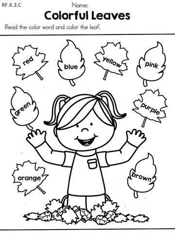 Imagini Pentru Autumn Worksheets For Kindergarten  Gradinita  Pinterest Kindergarten