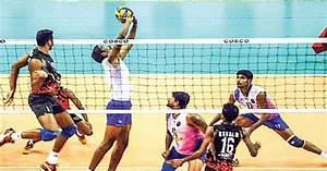 National Volleyball championship: Kerala men hit back ...