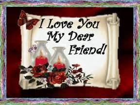 I Love You Dear Friend