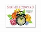 spring forward daylight savings 2020 - Clip Art Library