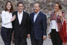 Photos: Carla et Nicolas Sarkozy au Mexique - Gala