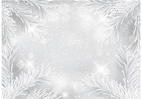 silver glitter christmas vector background