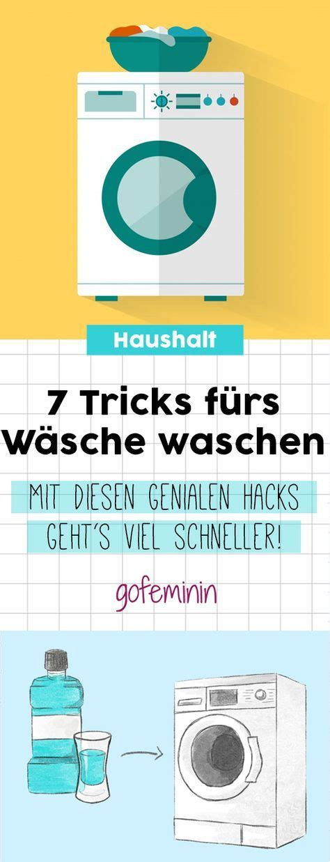 Hacks Haushalt by 7 Geniale Haushalts Hacks So Wird W 228 Sche Waschen Viel
