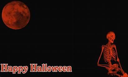 Halloween Gifs Happy Animated Skeleton Night Background