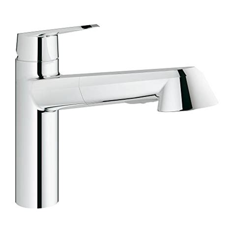 grohe kitchen faucets amazon grohe chrome kitchen faucet handle