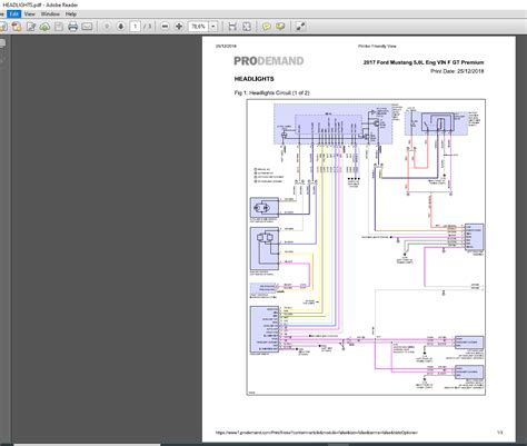 ford mustang   eng vin fgt wiring diagram auto
