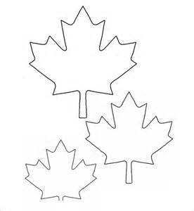 Maple Leaf Template Printable Free