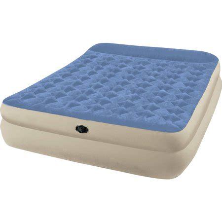 intex air mattress walmart intex raised airbed mattress walmart