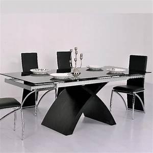 Agreable table salle a manger extensible pas cher 5 for Table de salle a manger design avec rallonge
