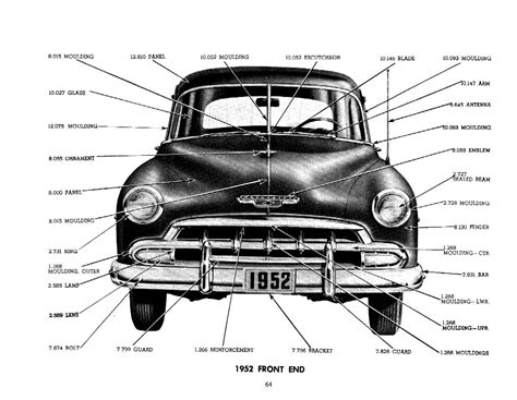 1929  1957 Chevrolet Master Parts & Accessories Catalog