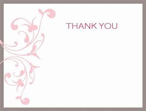 Thank You Note Printable Activity Shelter
