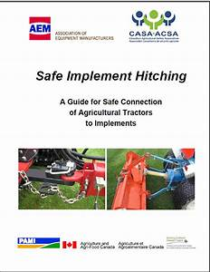 Safe Implement Hitching  A Guide For Safe Connection Of