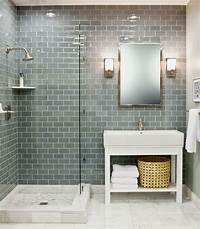 glass tile bathroom 35 blue grey bathroom tiles ideas and pictures
