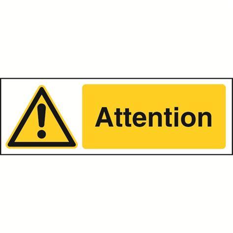 chevalet de bureau panneau attention stf 2502 direct signalétique