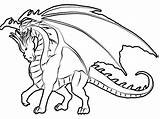 Dragon Coloring Pages Tales Websites Head sketch template