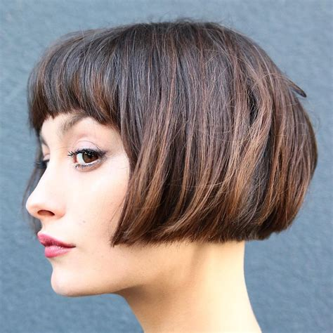 short hairstyles  thick hair  short haircuts  women styles weekly