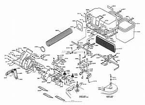 Dixon Grass Blower  Bagger Assembly Ztr 4421  1997  Parts