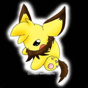 Evil Pichu Pikachu