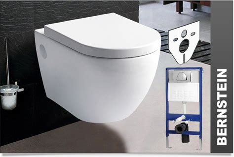 wall hung toilet wall mounted softclose geberit installation system flush plate ebay