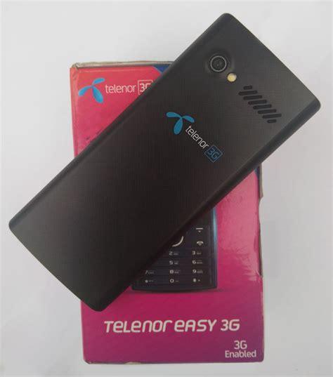 Telenor Easy 3G Phone Review