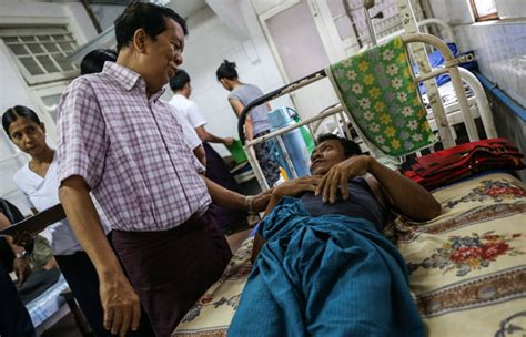myanmar patients pay  price
