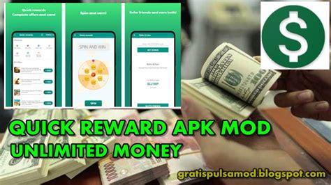 Penghasil uang 2021 #terbaru apk is a entertainment apps on android. Quick Rewards Apk Mod - Aplikasi Penghasil Dollar Paypal Unlimited Money 2020 - Gratis Pulsa Mod