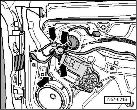 volkswagen workshop manuals gt golf mk4 gt gt general repairs exterior gt glazing window