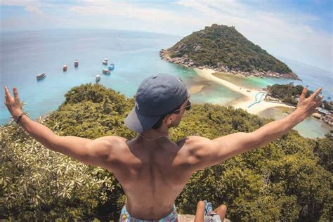 Koh Nang Yuan Island Thailand The Best Koh Tao Viewpoint