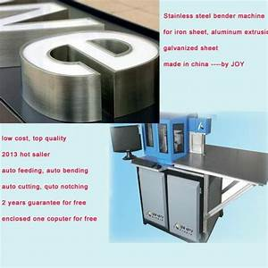 automatic cnc channel letter bender machine 1625 joy With channel letter supplies