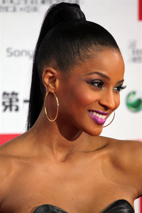 Black Ponytail Hairstyles by Top 7 Most Glamorous Black Hairstyles For