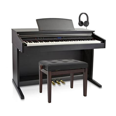 sgabello pianoforte dp 20 pianoforte digitale di gear4music pacchetto