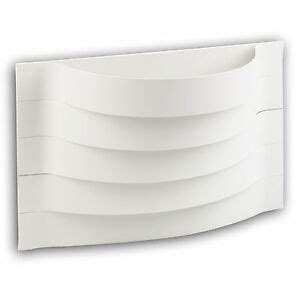 white contour curved wall mounted indoor l lighting